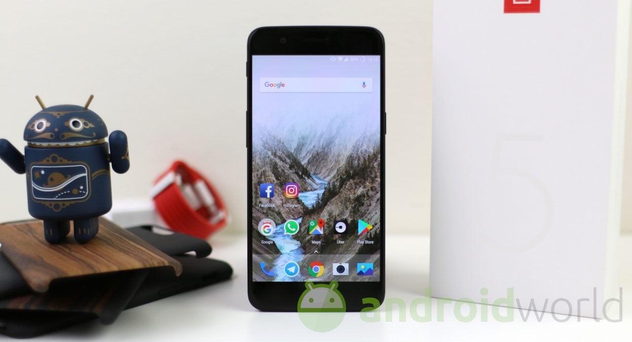 OnePlus 5: arriva la OxygenOS 4.5.8 con EIS per i video 4K (aggiornato: ripreso)