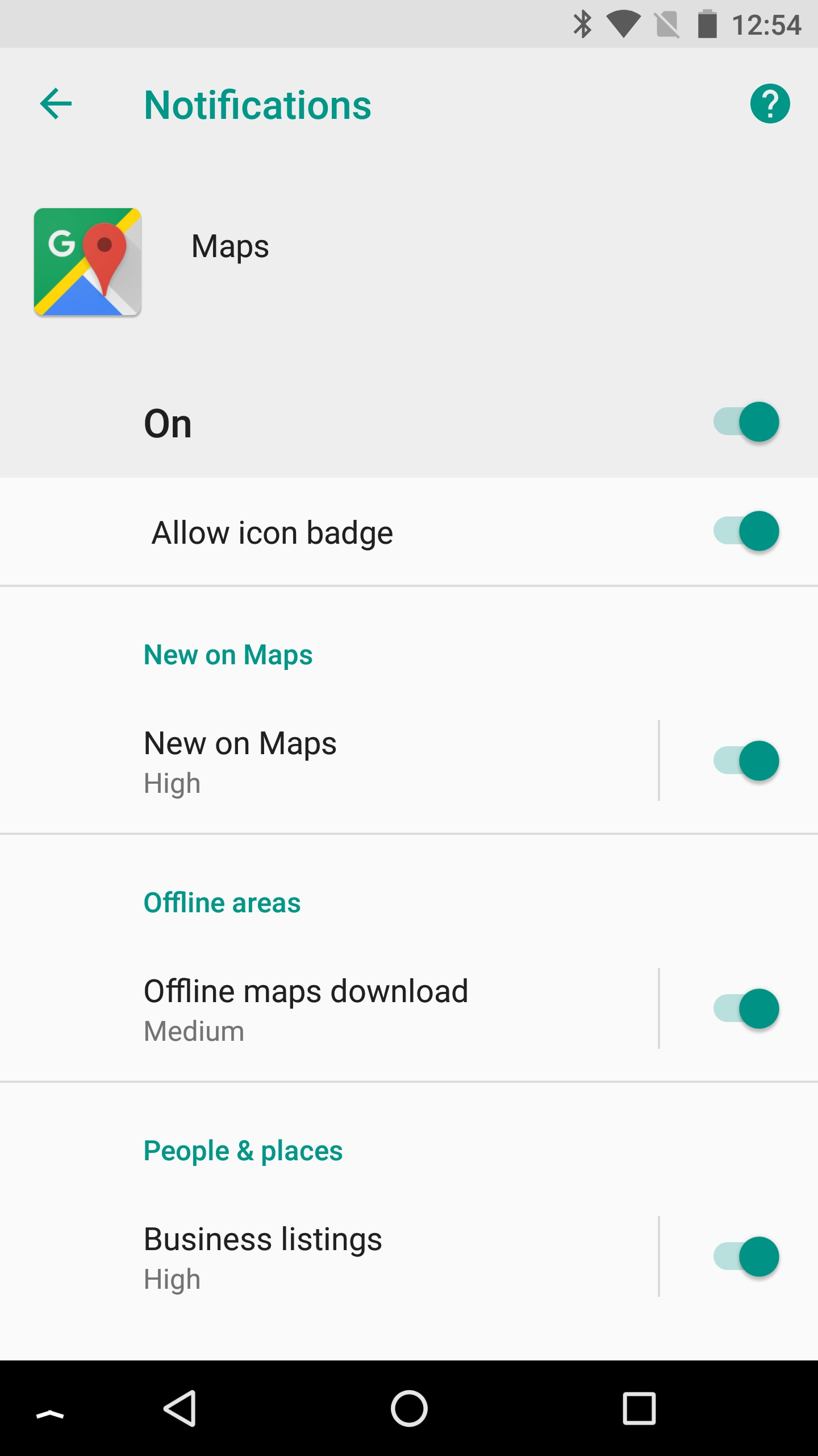 google maps canali android o (3)
