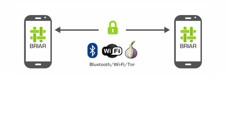 """Briar, l'app per la messaggistica """"da agenti segreti"""" che invia messaggi attraverso Tor (foto)"""