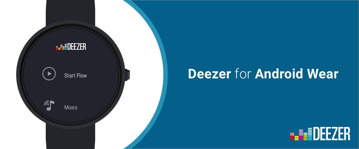 Deezer si aggiorna includendo il supporto ad Android Wear (download apk)