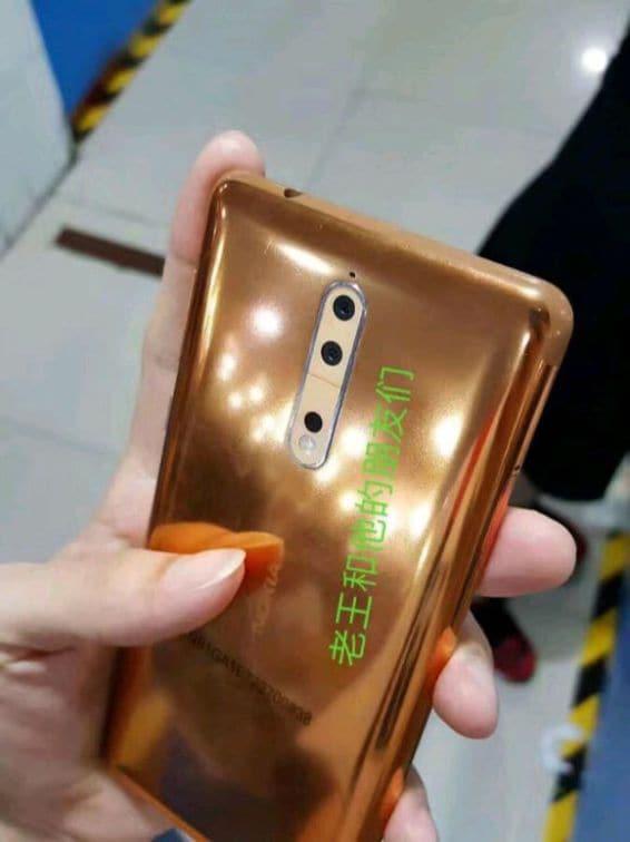 Nokia 8 Oro Rame – 1