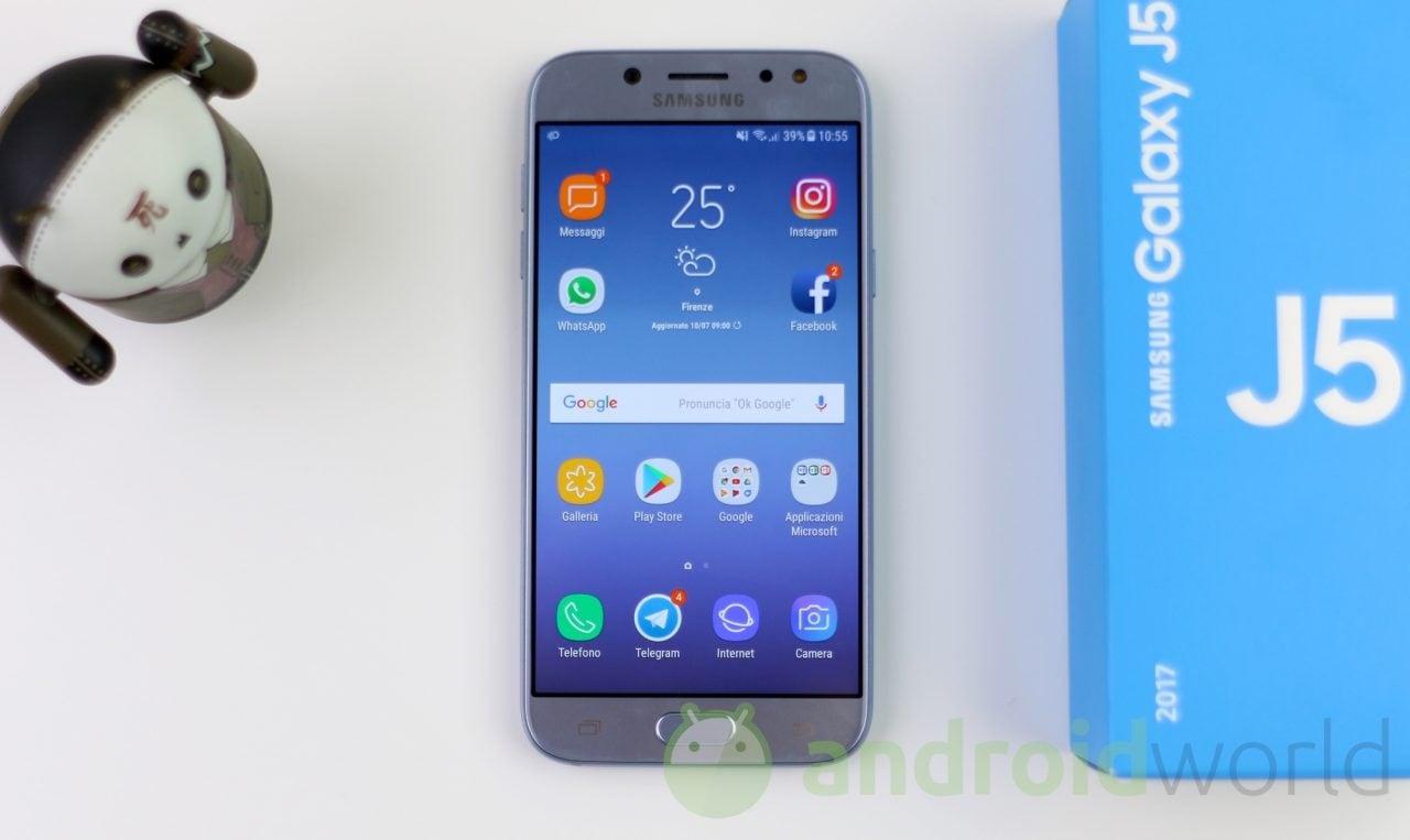 Samsung Galaxy J5 (2017) si aggiorna ad Android Pie in Italia (aggiornato - foto)