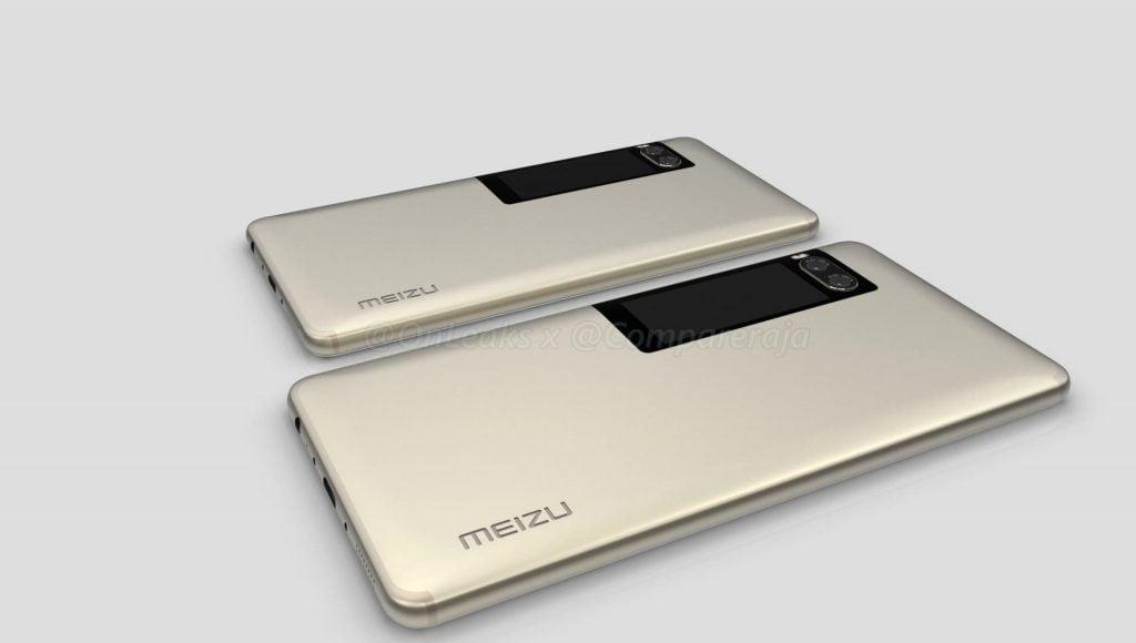 Nuovi render di OnLeaks vi mostrano Meizu Pro 7 a tutto tondo (foto e video)