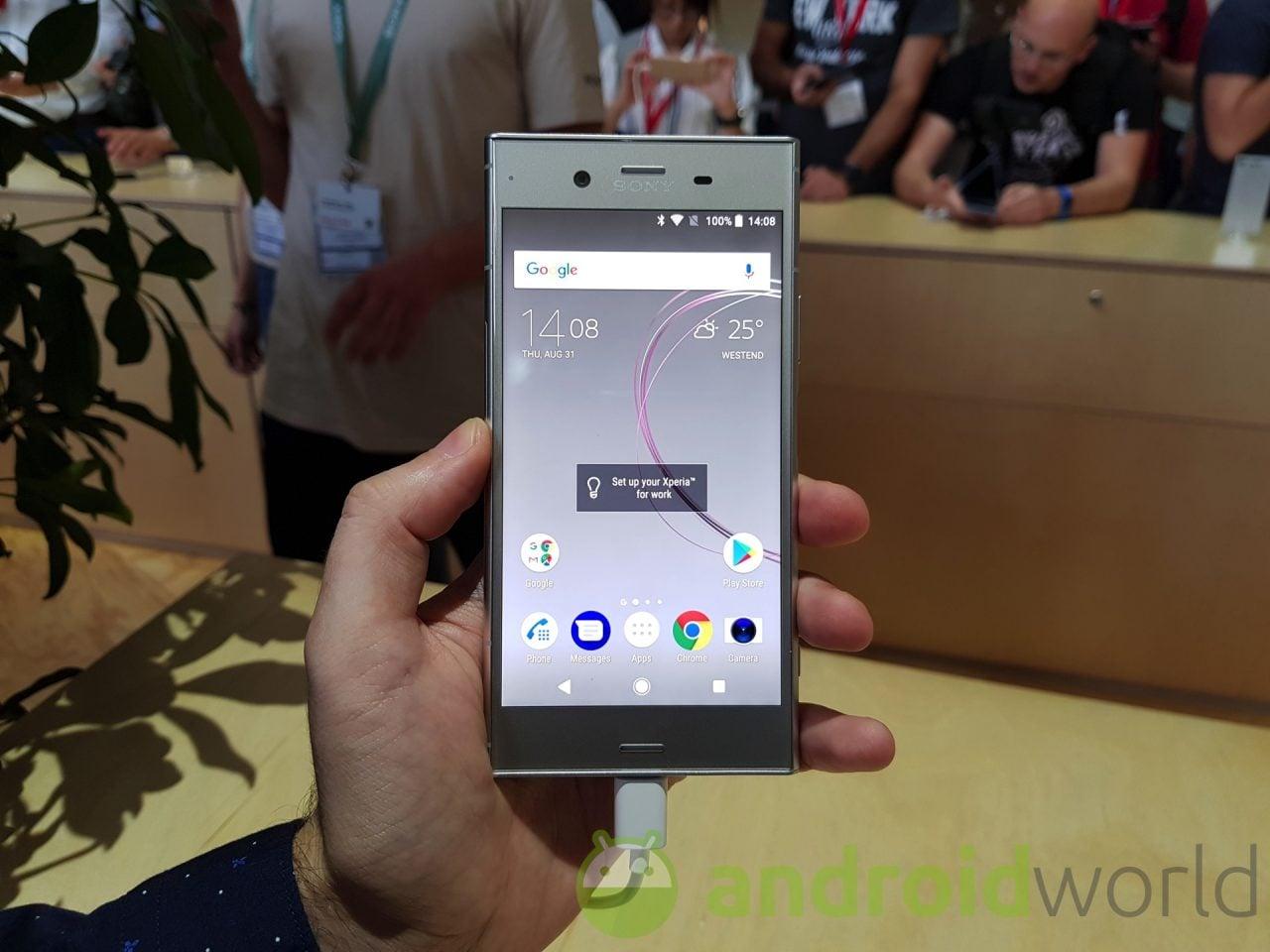 Provate i nuovi Dialer e Contatti di Xperia XZ1 sul vostro smartphone Sony (download)