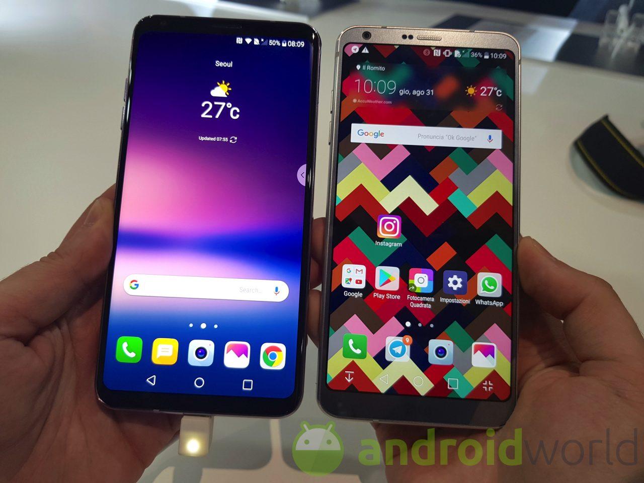 LG Italia ci fa sapere che G6 e V30 riceveranno Oreo più tardi di quanto sperassimo