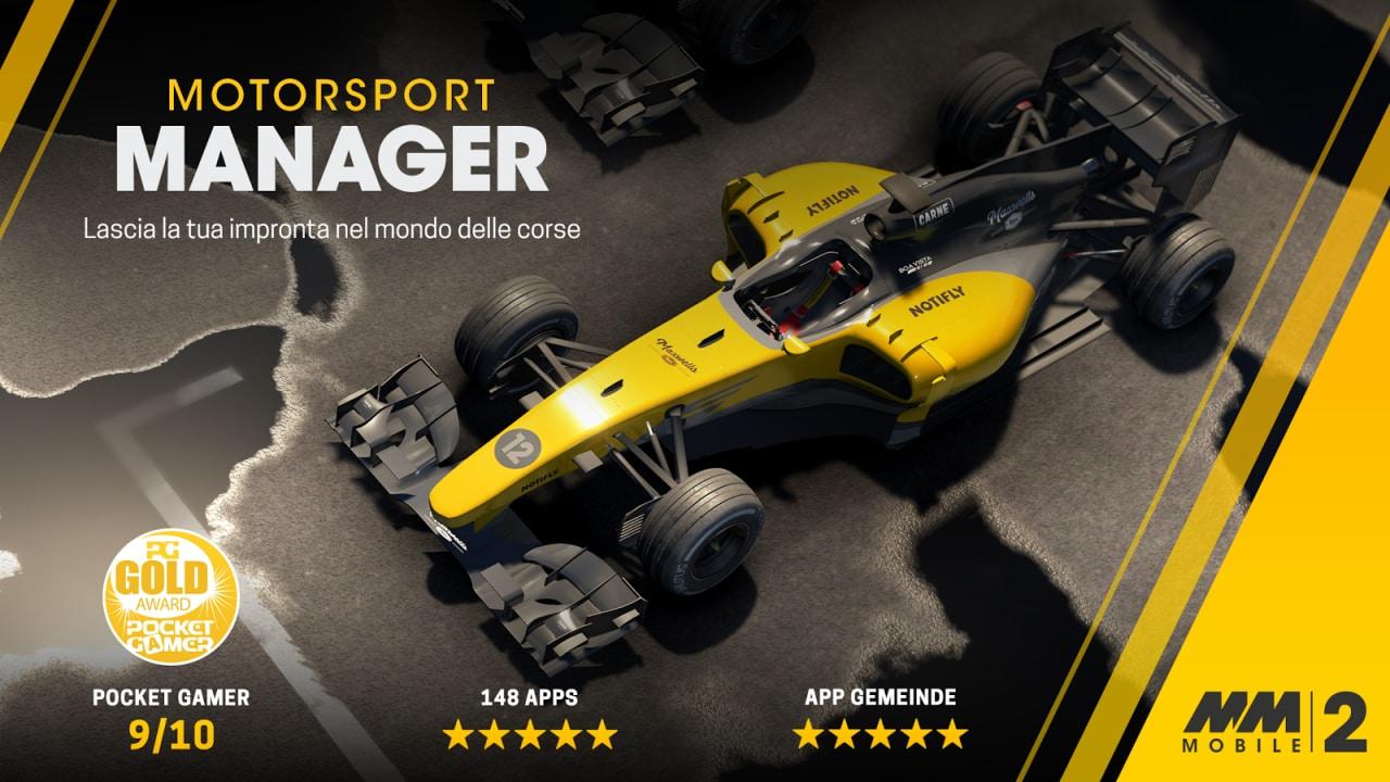 Motorsport Manager Mobile 2 arriva sgommando sul Play Store (foto e video)