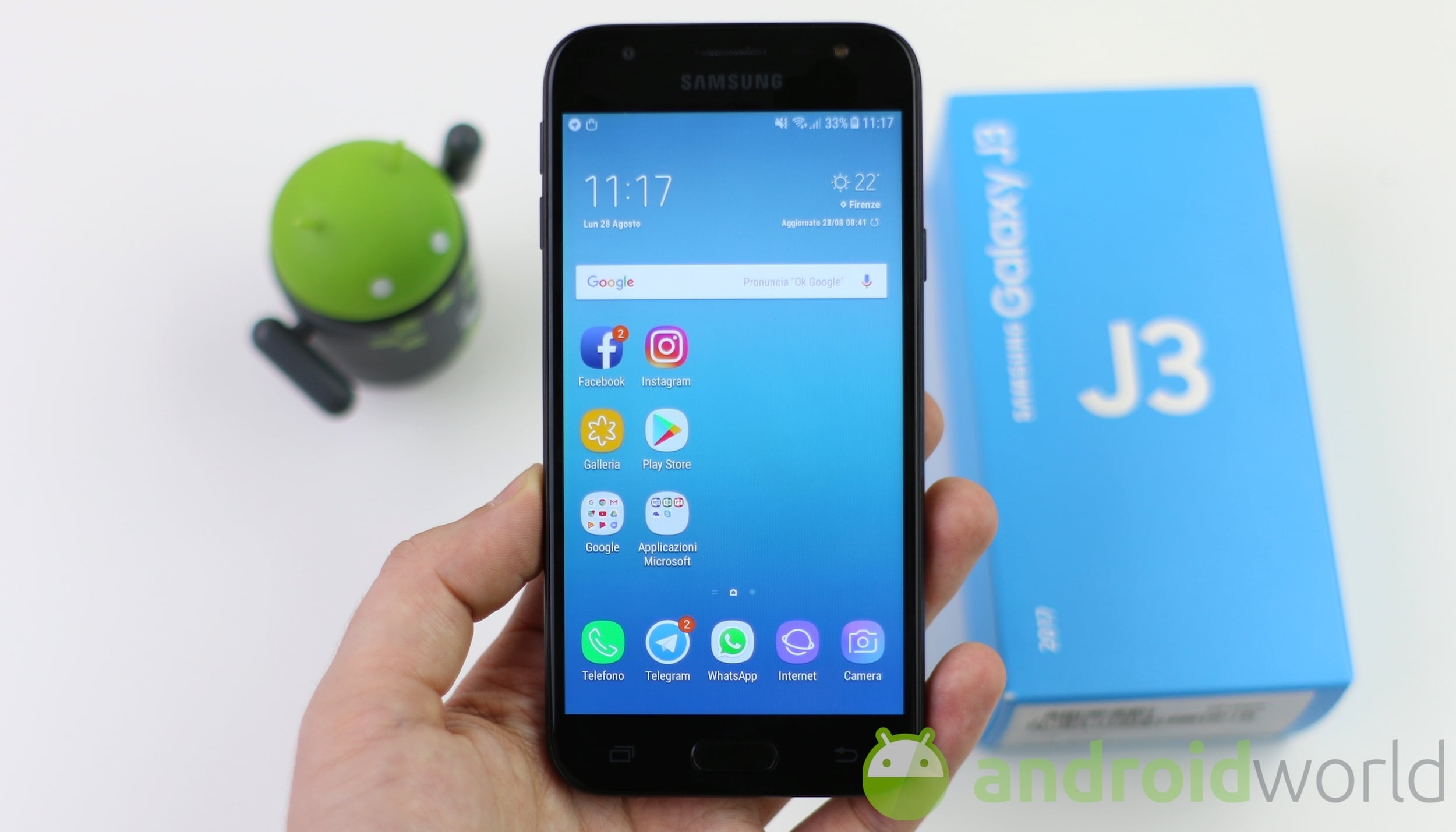 Android 8 samsung j3