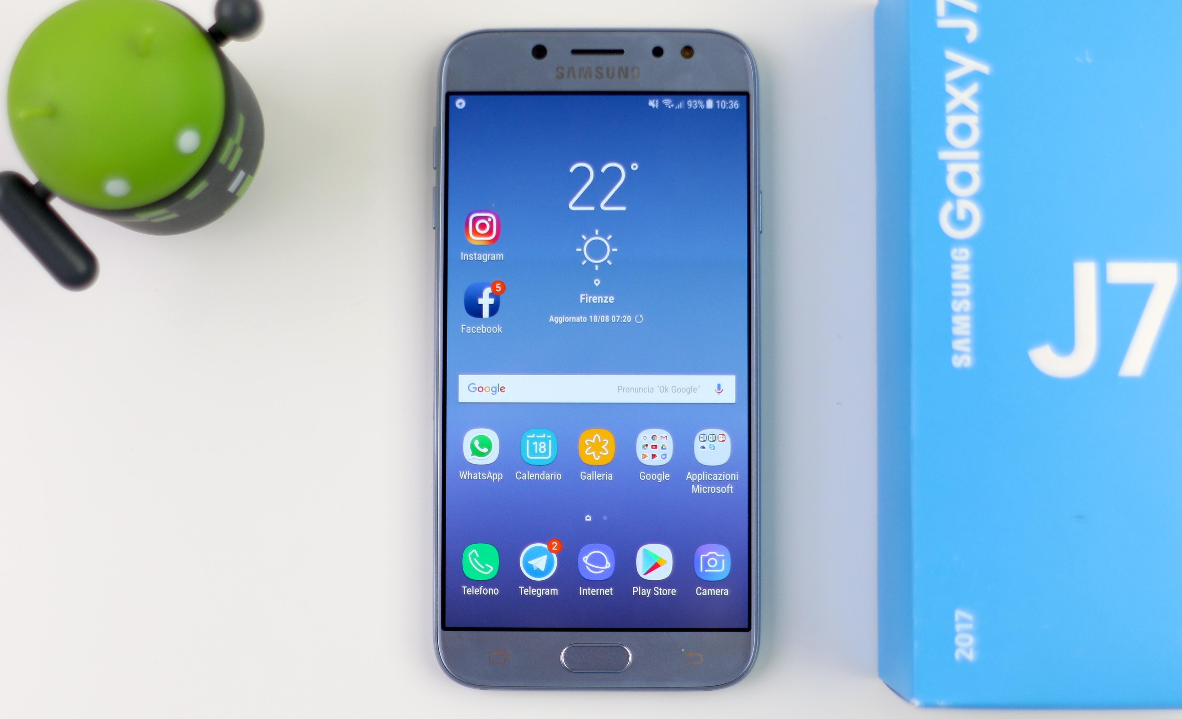 Calendario Samsung.Recensione Samsung Galaxy J7 2017 Quando La Fascia Media Offre