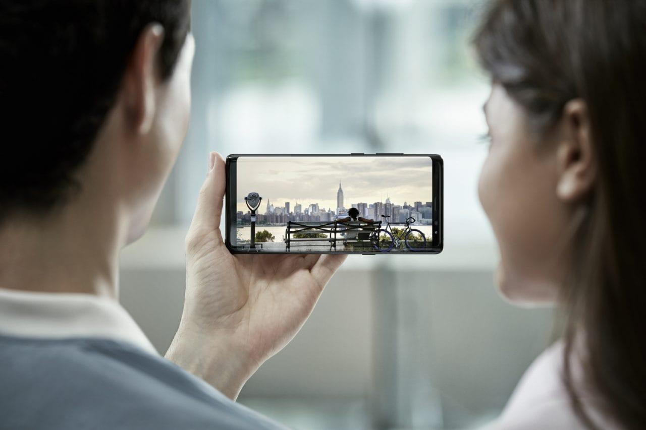 Lo schermo di Galaxy Note 8 è il migliore mai prodotto, parola di DisplayMate