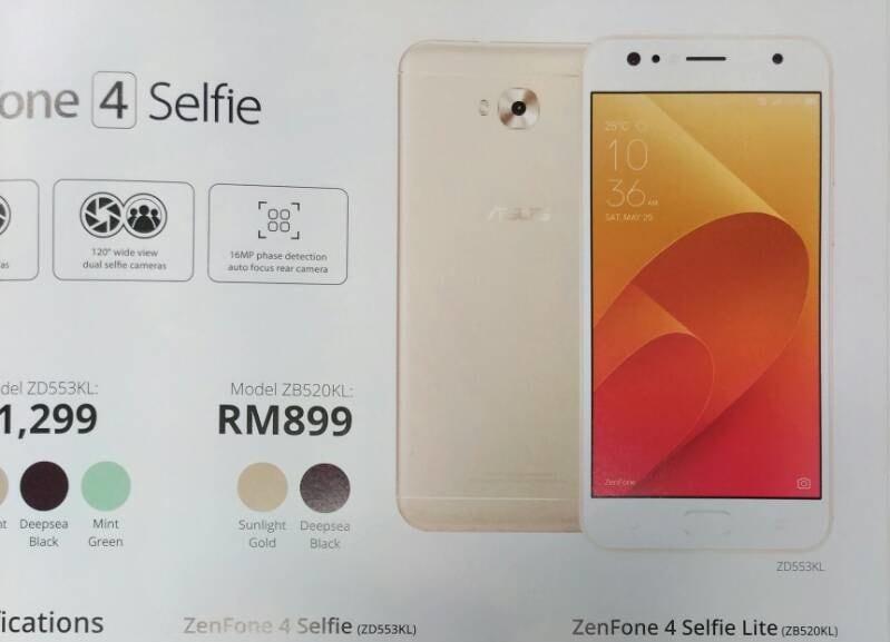 Pensavate che 6 ZenFone 4 fossero pochi? Ecco che arriva ASUS ZenFone 4 Selfie Lite: sarà l'ultimo?