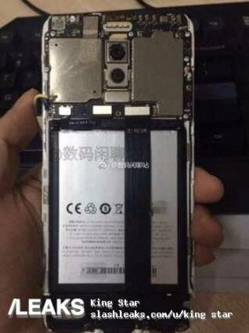 Le prime foto reali di Meizu M6 Note evidenziano la doppia fotocamera posteriore