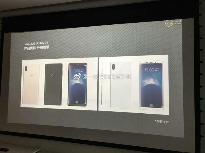 Lo smartphone Vivo con lettore di impronte sotto al display potrebbe chiamarsi Xplay 7 (foto)