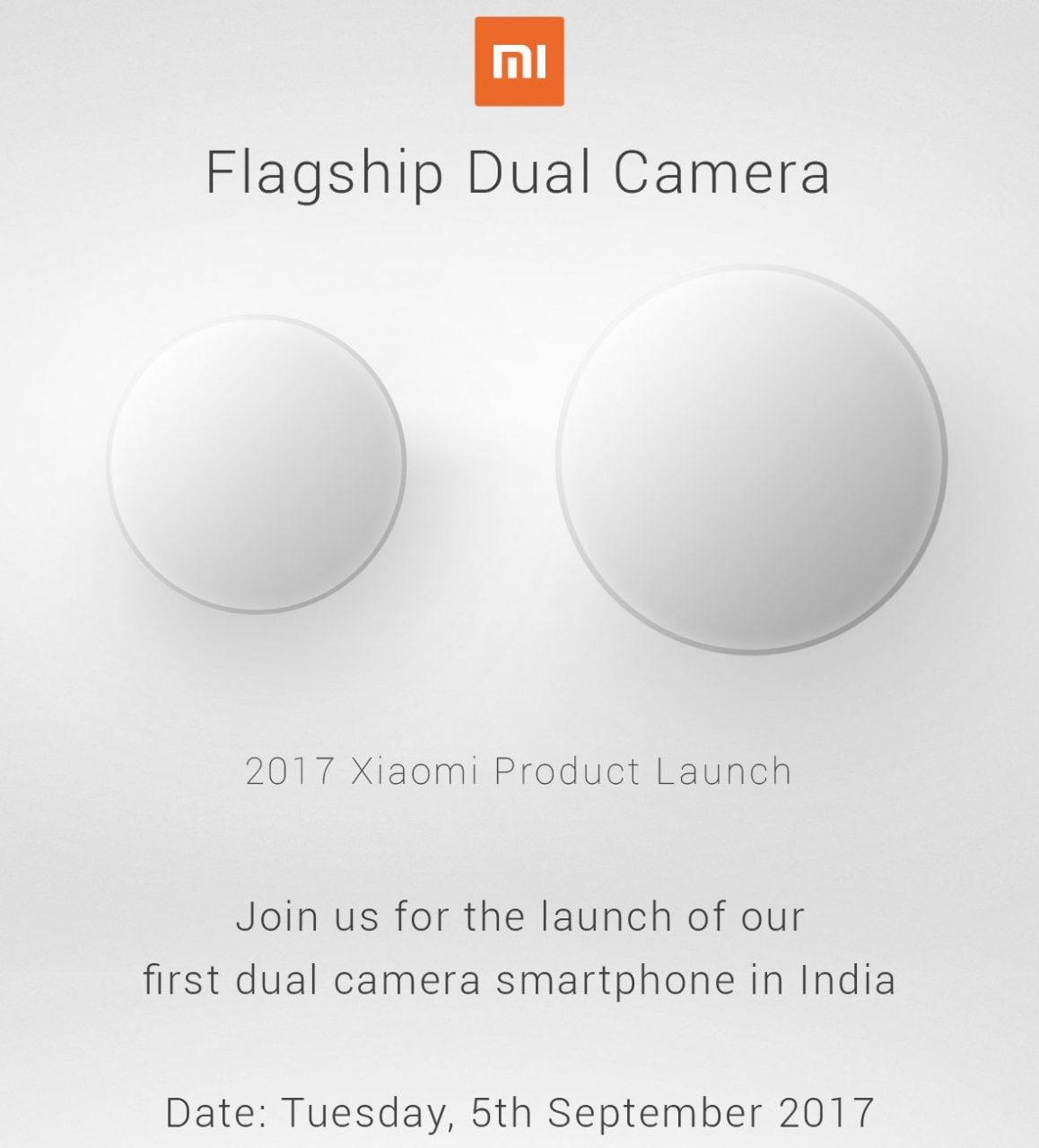 Flagship dual camera di Xiaomi in arrivo il 5 settembre, ma forse l'abbiamo già visto