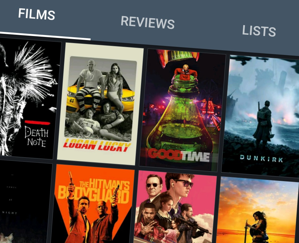 Letterboxd, il social network per gli appassionati di cinema, è sbarcato su Android (foto)