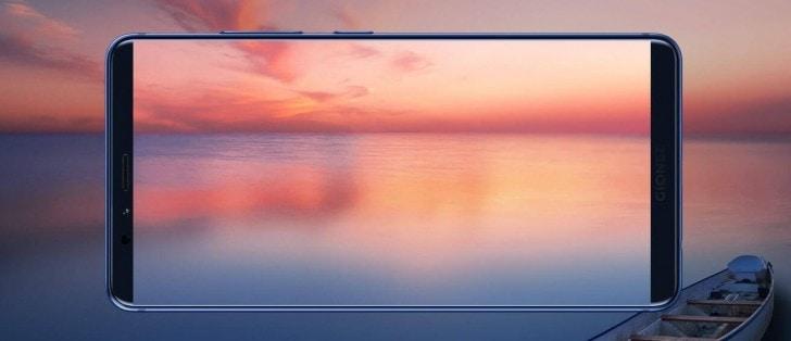 Gionee M7 Ufficiale Davanti Sembra Galaxy S8 Ma Dietro 232