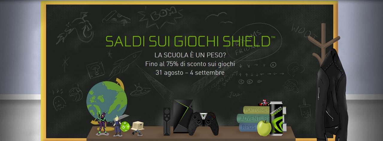 Tanti giochi a prezzo speciale con i saldi per NVIDIA Shield, ma solo fino al 4 settembre!