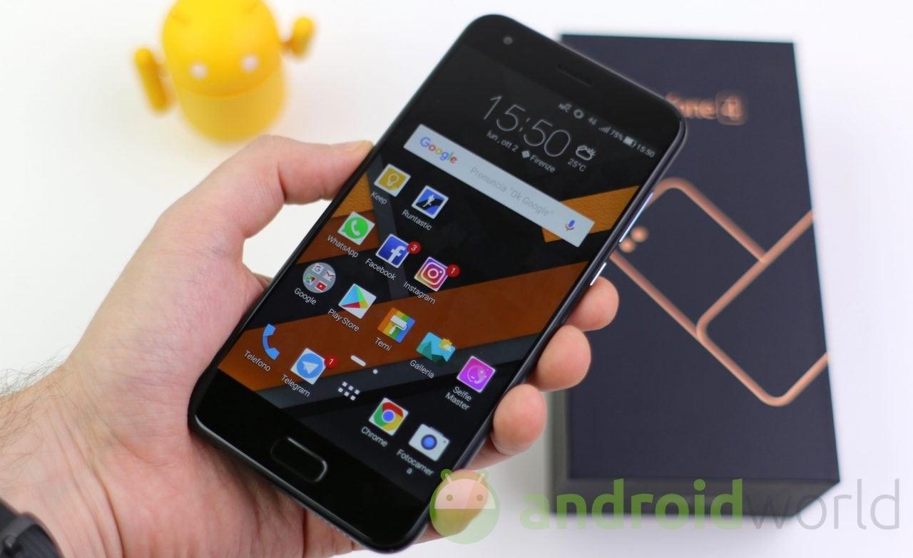 ASUS ZenFone 4 riceve il primo aggiornamento dell'anno: ecco le patch di gennaio