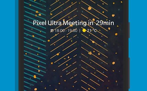 Another Widget: meteo e calendario in stile Pixel sulla vostra home (foto)