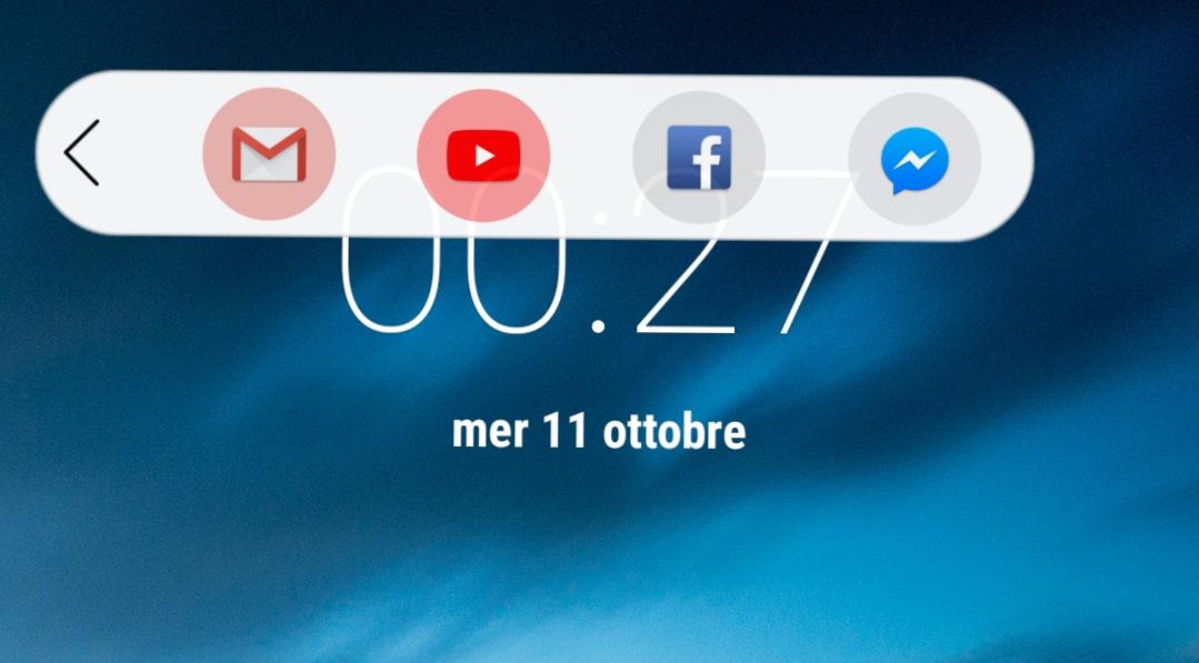 Quest'app porta la floating bar di LG V30 su ogni dispositivo (foto)
