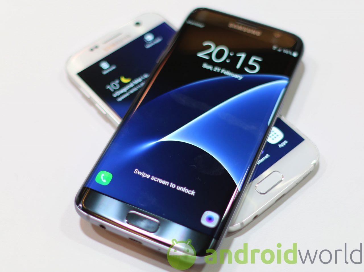 Arriva anche in Italia l'aggiornamento per Samsung S7 edge con le patch di luglio (foto)
