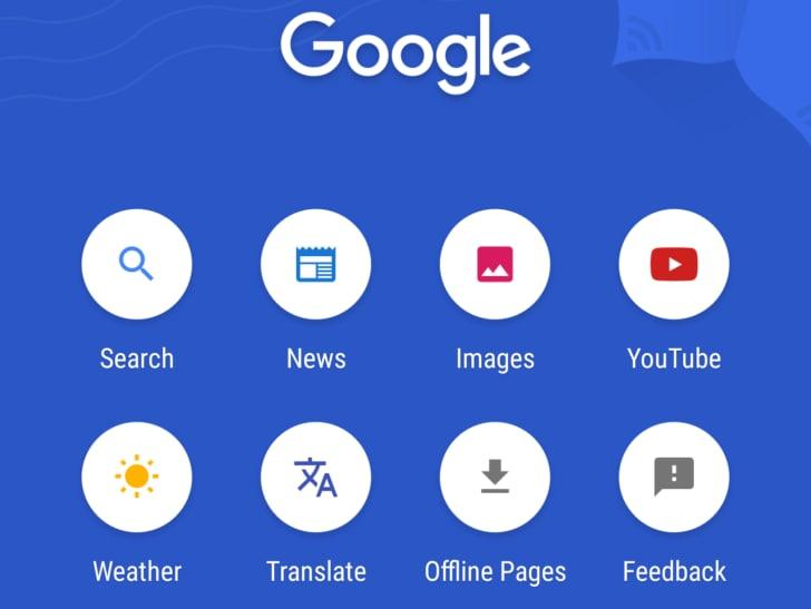"""Google aggiorna la versione """"leggera"""" della sua app per la ricerca (foto)"""