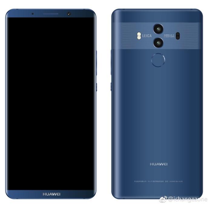 Ancora immagini di Huawei Mate 10 Pro: è sempre bello, o brutto, a seconda dei gusti! (foto)