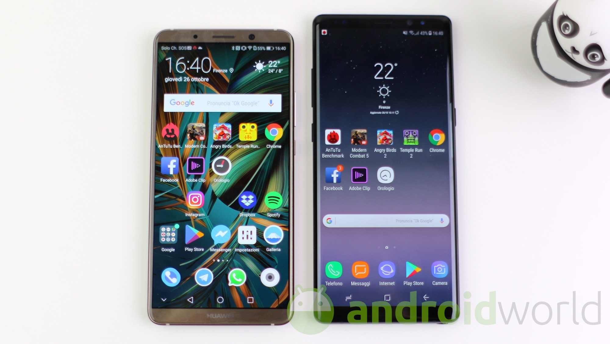 Huawei Mate 10 Pro vs Samsung Galaxy Note 8 – 1