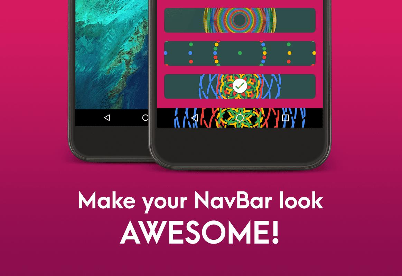 """Navbar Animations: il modo più semplice per """"dar vita"""" ai pulsanti virtuali, senza bisogno di root (foto)"""