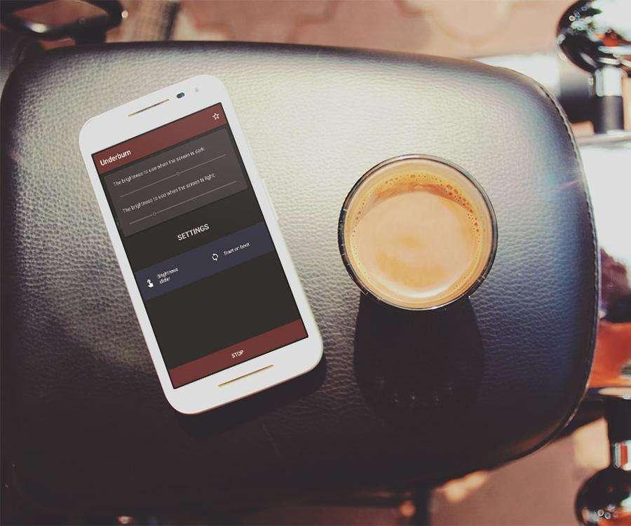 Underburn, l'app che modifica la luminosità dello schermo in base a ciò che state guardando (foto)