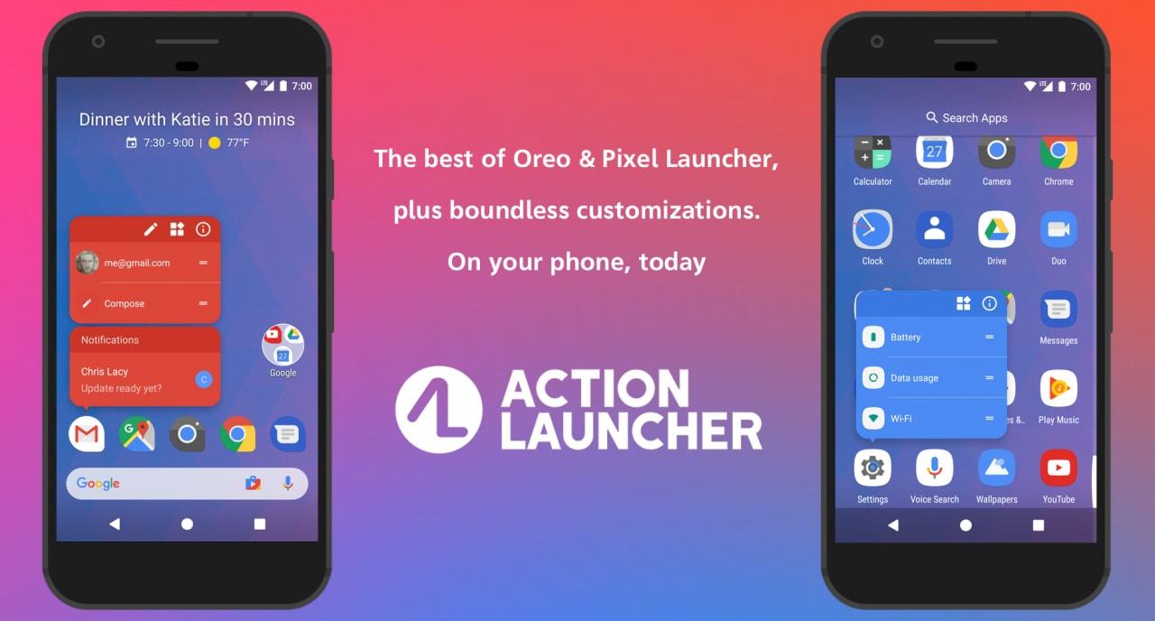 Gadget Calendario.Action Launcher 30 Introduce Un Widget In Stile Pixel 2 Per