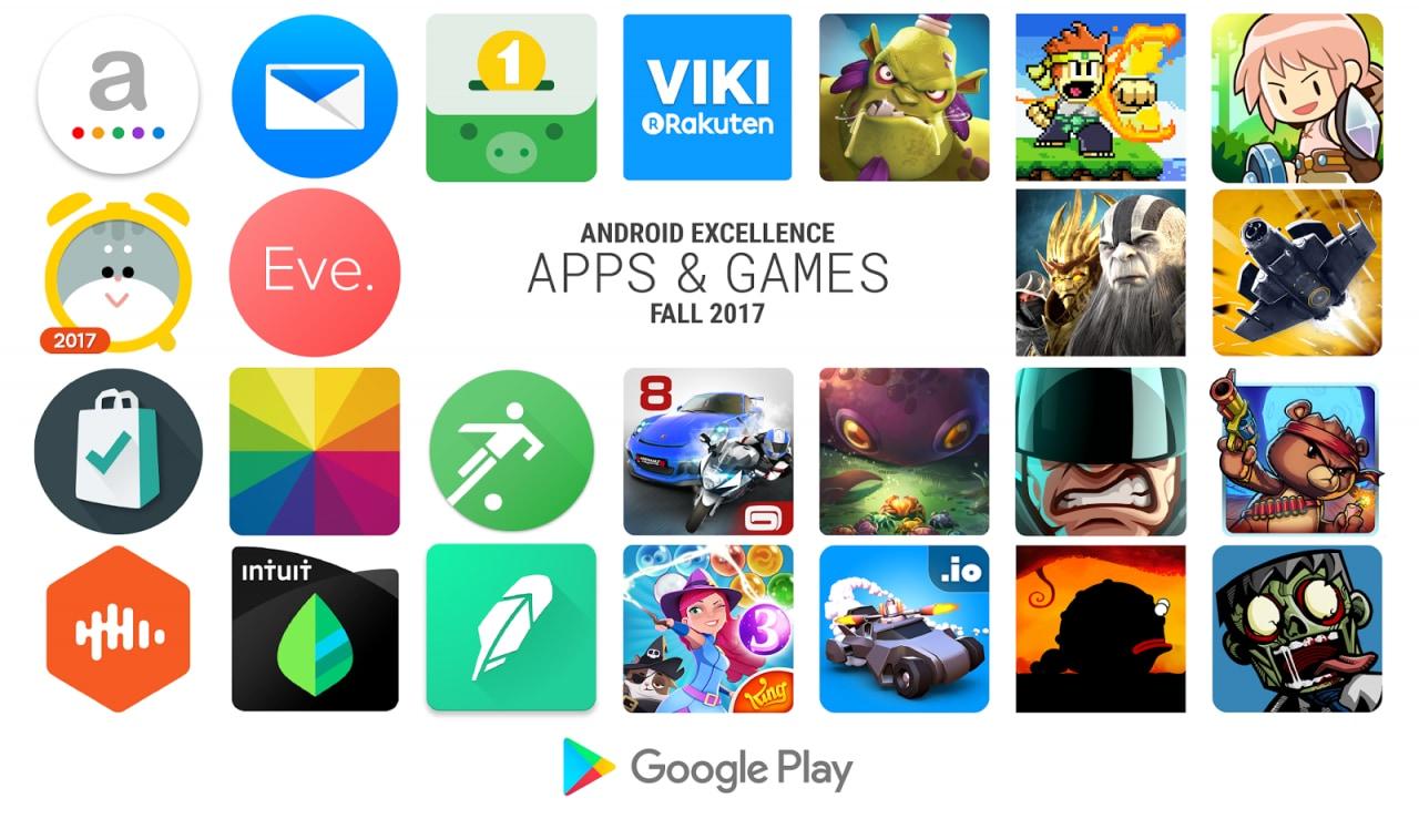 Google aggiorna la lista Android Excellence: tanti giochi ed app di qualità scelti per voi