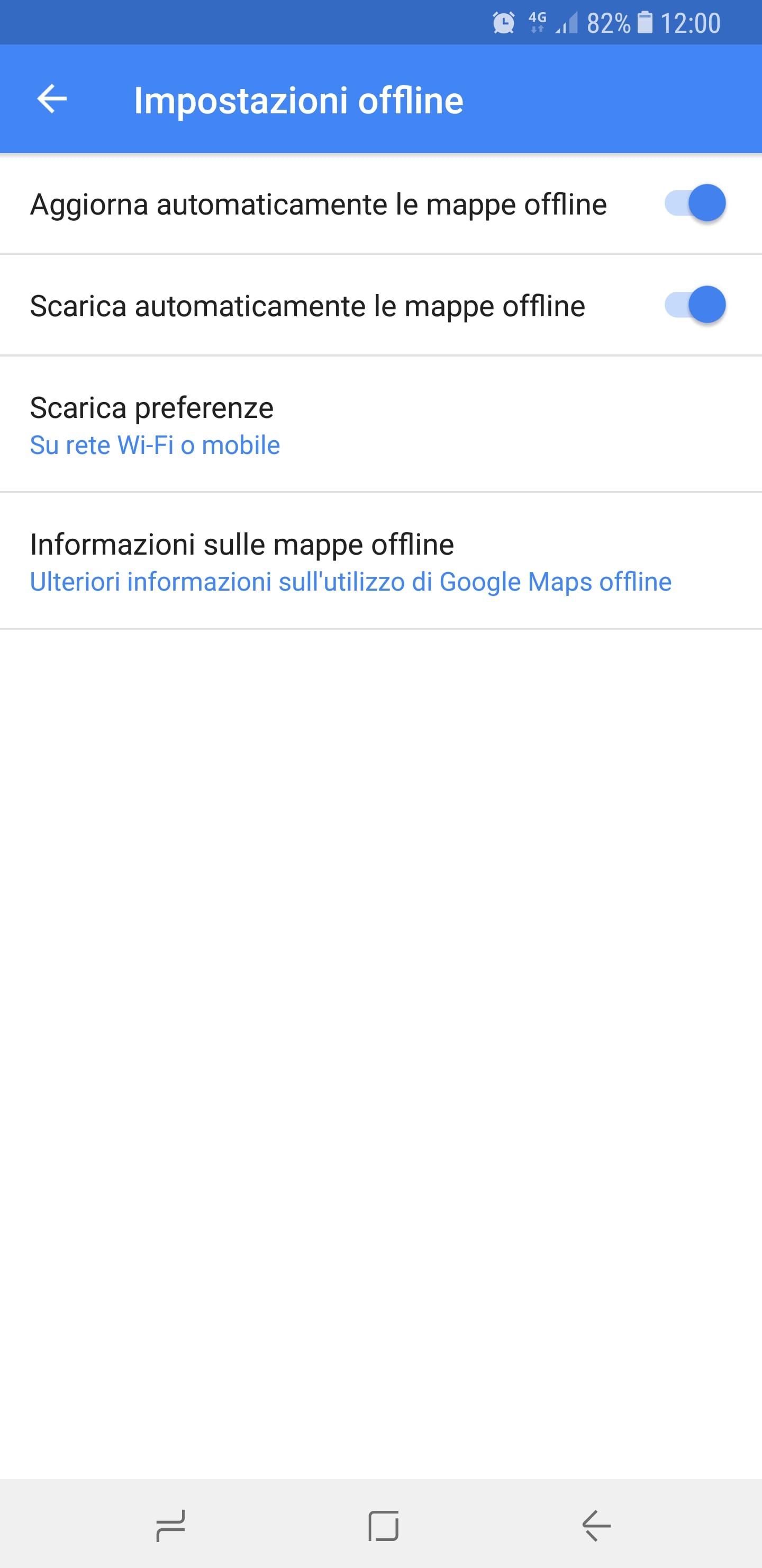 mappe offline maps