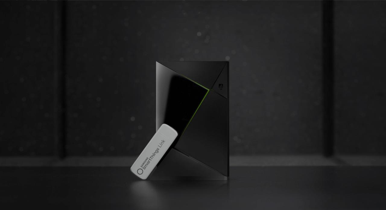 NVIDIA Shield TV sempre più centro dell'IoT con Samsung SmartThings Link (video)