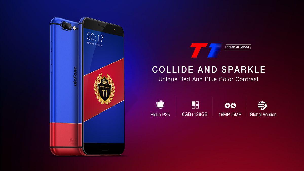 Ulefone lancia T1 Premium Edition: medio gamma con doppia fotocamera e doppia colorazione (foto e video)