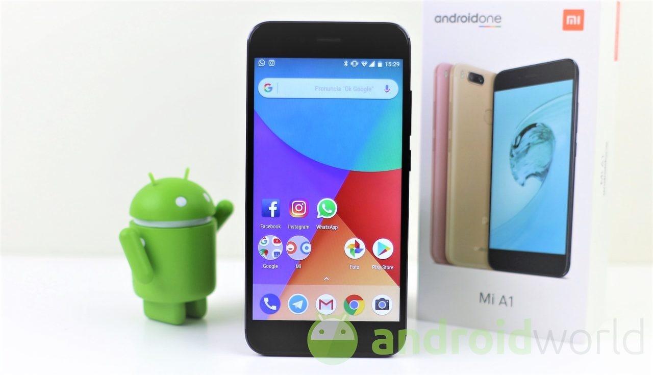 Xiaomi Mi A1 si aggiorna con le patch di sicurezza Google di ottobre