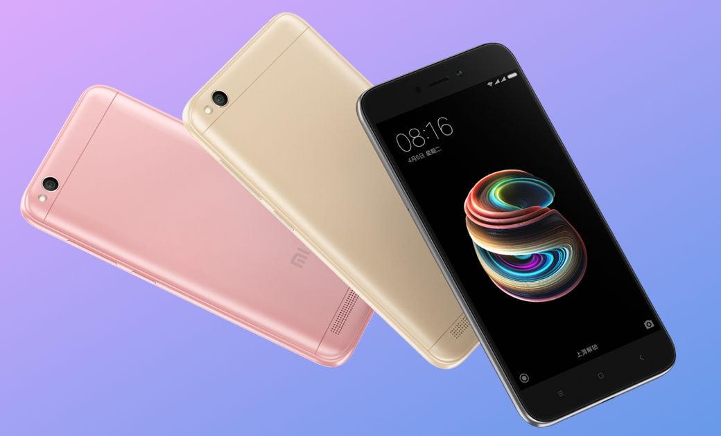 Xiaomi Redmi 5A ufficiale: nulla di emozionante, forse nemmeno il prezzo! (foto)