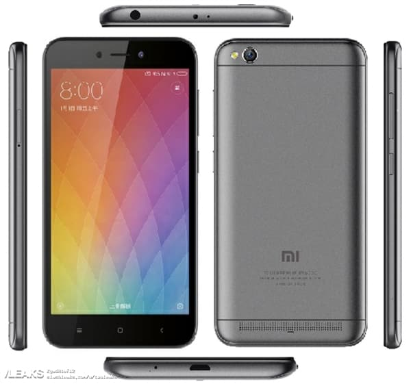 Xiaomi Redmi 5A sarà un entry level economico: ecco foto e specifiche dal TENAA (foto)