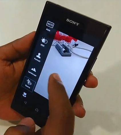 Sony sta testando un'app fotocamera tutta nuova sugli inediti Xperia R1 (foto e video)