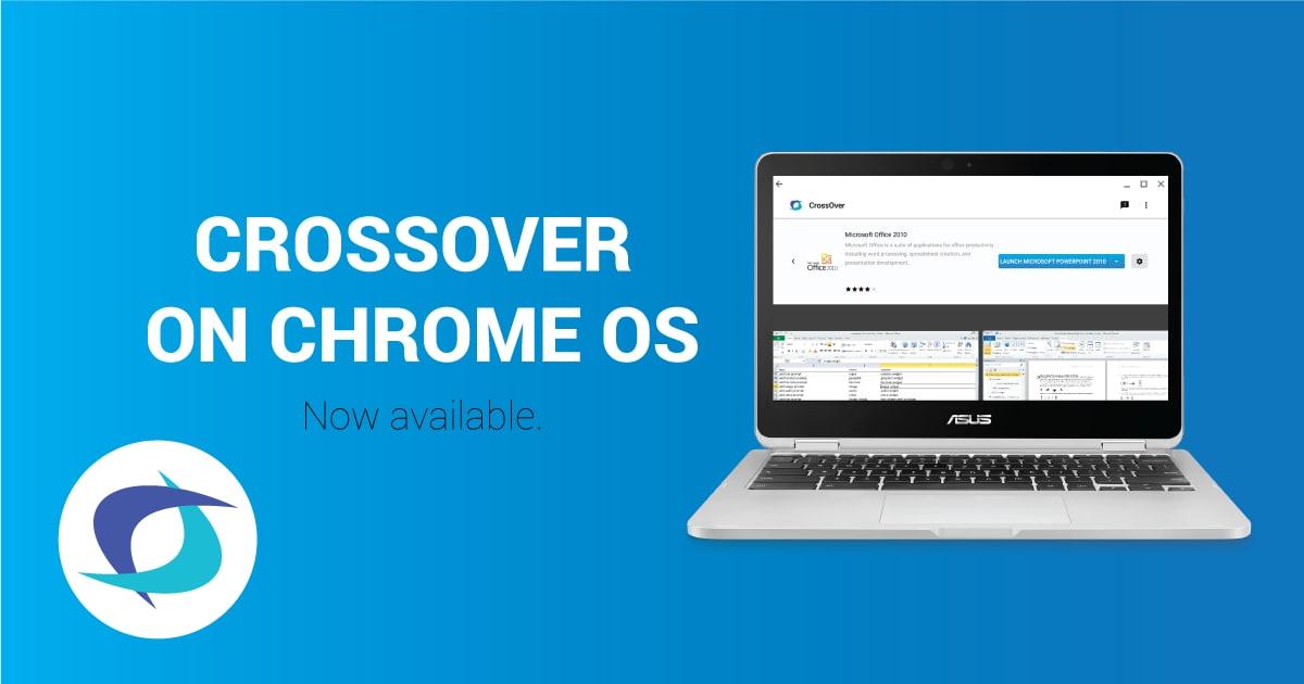 CrossOver per Chrome OS arriva in open beta per portare il software Windows sui Chromebook (video)