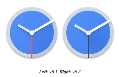 google orologio ha una nuova icona e permette di cercare