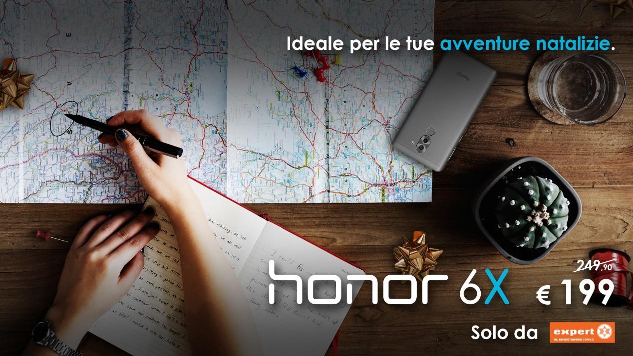 Honor 6X in offerta speciale da Expert a 199€