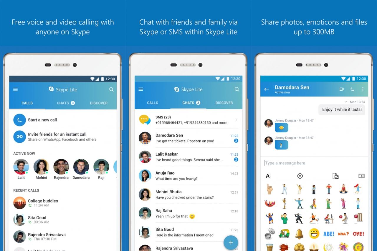 Skype Lite è disponibile in Italia