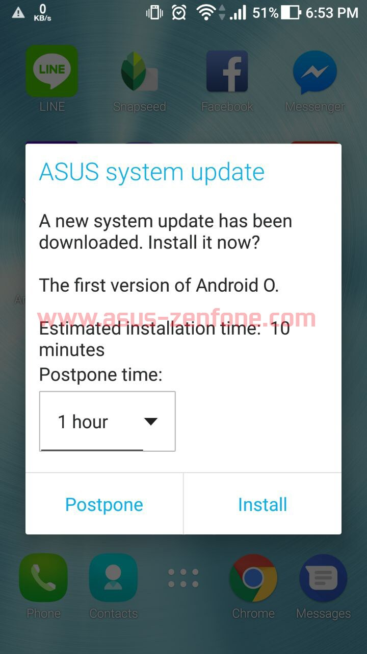 zenfone 3 ze520kl android 8.0