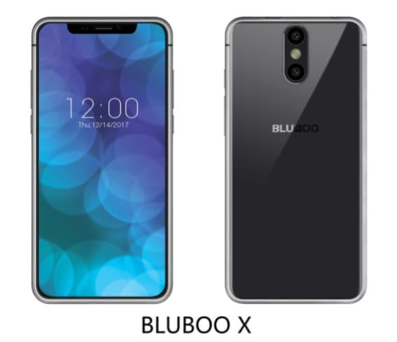 Bluboo ne ha fatta un'altra delle sue: ecco il clone di iPhone X (in attesa di quello di Galaxy S9)