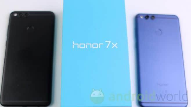 Recensione Honor 7x Dalla Confezione All Hardware Alla Prova