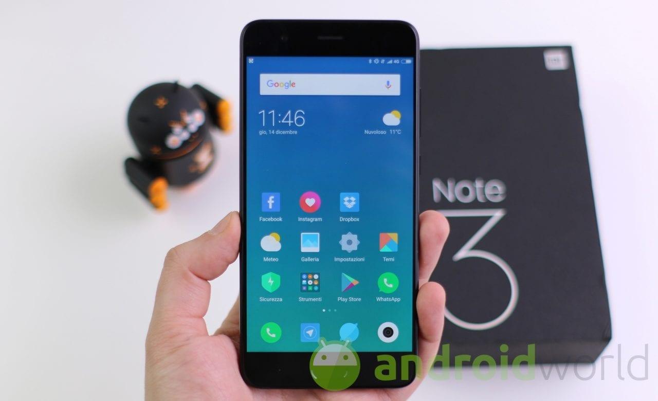 Xiaomi potrebbe far ripartire la serie Mi Note entro la fine del mese