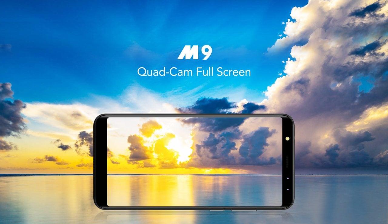 Leagoo M9 ufficiale: entry-level con display 18:9 e quattro fotocamere a meno di 70€ (foto e video)
