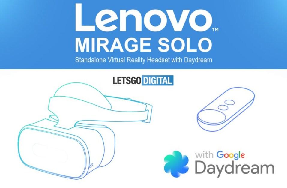 FCC svela i primi dettagli su Mirage Solo, il visore Daydream VR standalone di Lenovo (foto)