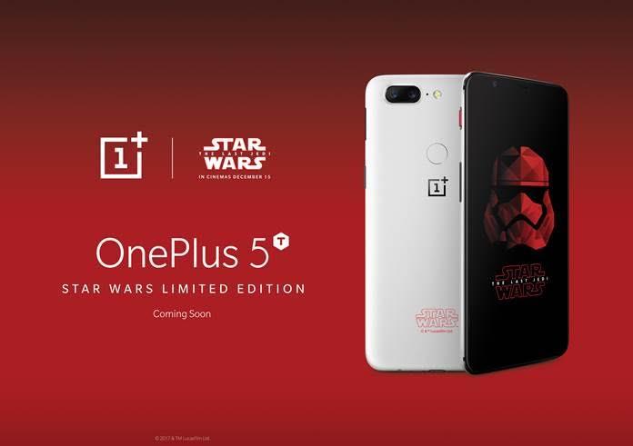 Gli sfondi di OnePlus 5T Star Wars Edition disponibili per il download