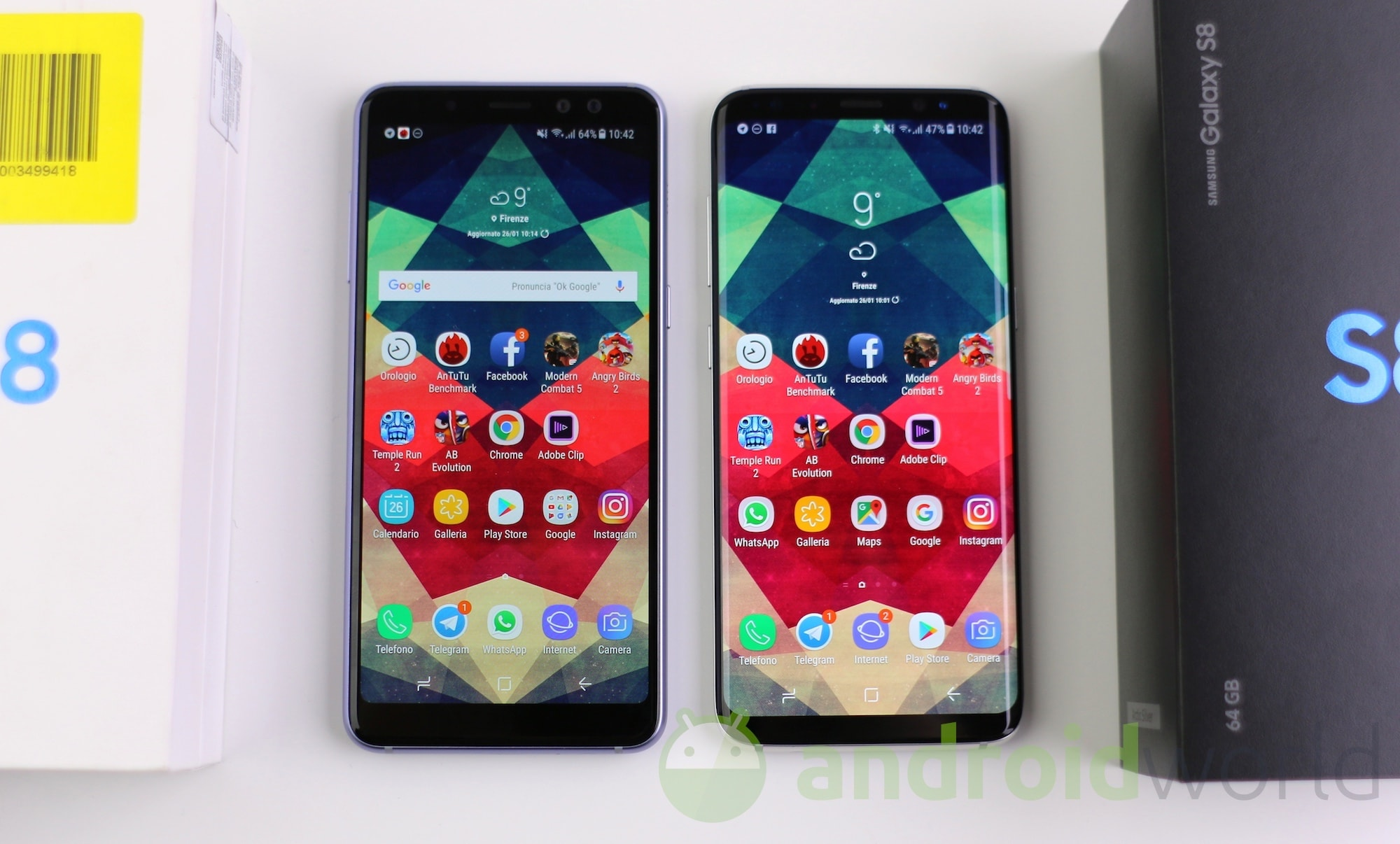 Samsung Galaxy A8 – S8 – 1